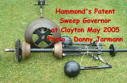 Hammond's Patent Sweep Governor