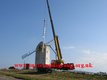 Ashcombe Windmill Sweeps Up October 2015