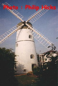 Patcham Windmill in 1992
