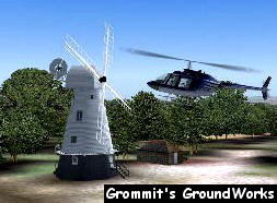 Chailey Windmill - Image by A. J. Pick (Grommit's GroundWorks)