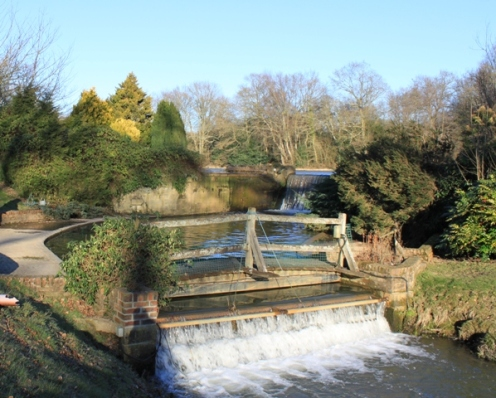 Two largest weirs