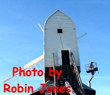 The first Sweep in place : photograph - Robin Jones